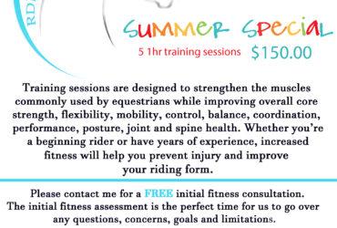 Summer fitness specials