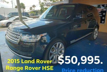 2015 Land Rover. Range Rover HSE